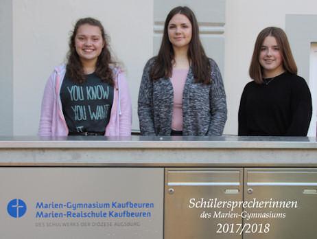 Schülersprecherinnen 2017/2018